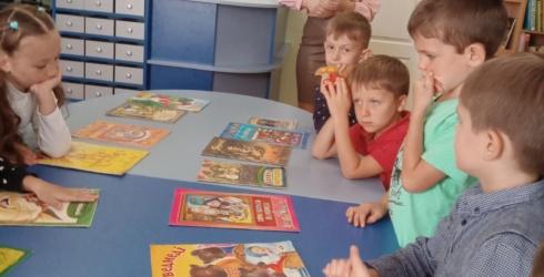 Бібліотечні уроки у першокласників