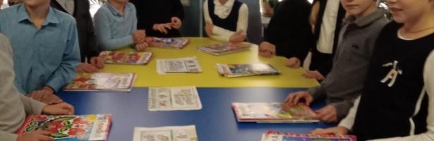 Знайомство з дитячими підписними виданнями.
